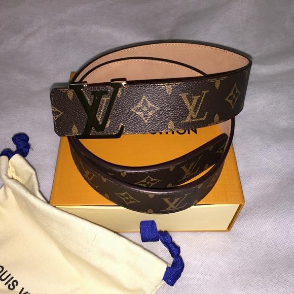 54c2d486e400 Louis Vuitton Accessories - Louis Vuitton LV Initials Monogram Belt 90CM(30 -32
